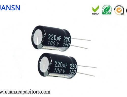 What are the characteristics of a broken display capacitor