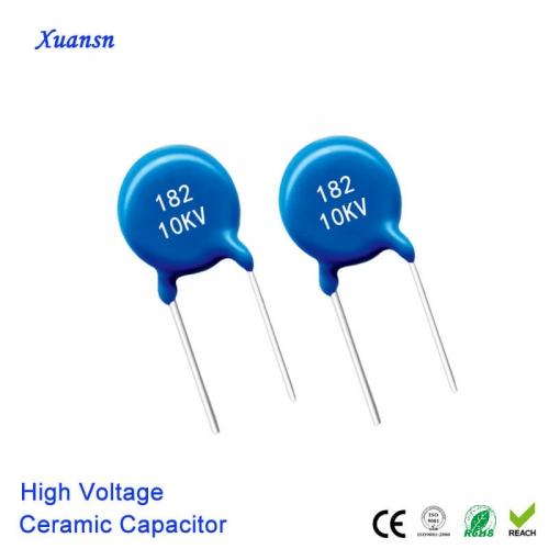 182K10kv High Voltage Ceramic Capacitor