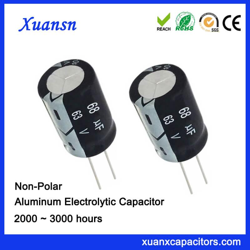 Electrolytic Capacitor 68uf 63v