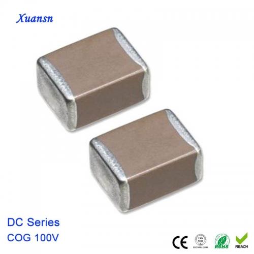 100PF multilayer ceramic