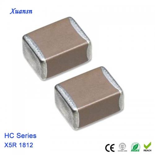 4.7uf multilayer chip ceramic capacitor
